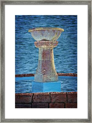 Fountain Framed Print