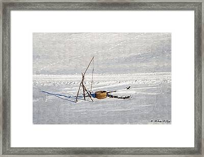 Fountain With Shadoof Framed Print
