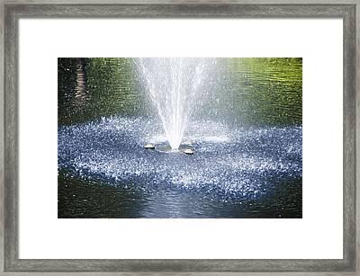 Fountain1 Framed Print