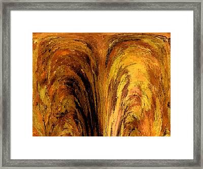 Fountains Of Fire Framed Print by Christine Maeda