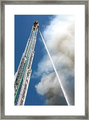 Four Alarm Blaze 001 Framed Print