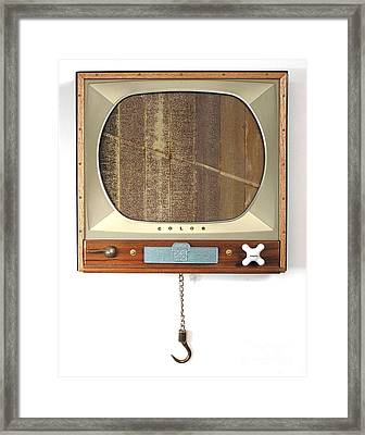 Four Arguments For The Elimination Of Tv  #6 Framed Print by Bill Czappa