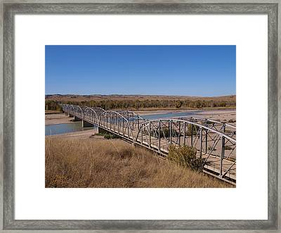 Four Corners Bridge Framed Print