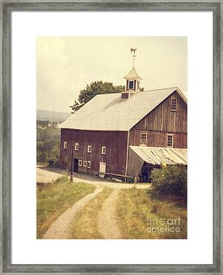 Four Corners Farm Vermont Framed Print by Edward Fielding