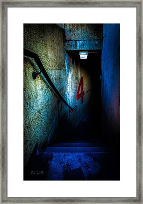 Four Down Framed Print by Bob Orsillo