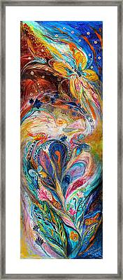 Four Elements Air Framed Print by Elena Kotliarker