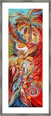 Four Elements Fire Framed Print by Elena Kotliarker