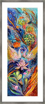 Four Elements Water Framed Print by Elena Kotliarker