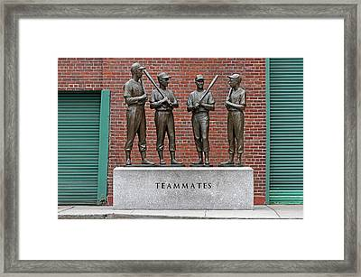 Four Legends Framed Print by Juergen Roth
