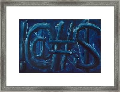 Four Letter Words Framed Print by Shawn Marlow