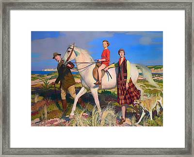 Four Loves I Found Framed Print by Mountain Dreams