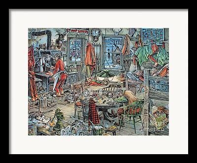 Jack Brauer Framed Prints