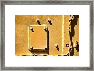 Four Outside  Framed Print