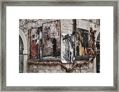 Four Posters Framed Print