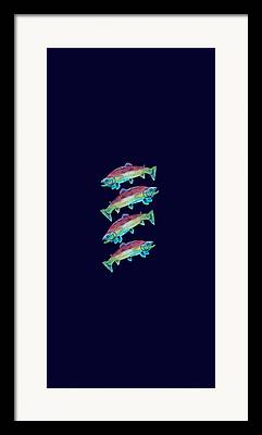 Deepsea Framed Prints