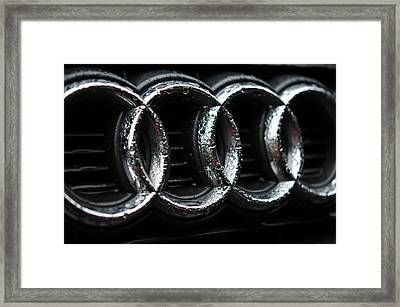 Four Rings Framed Print