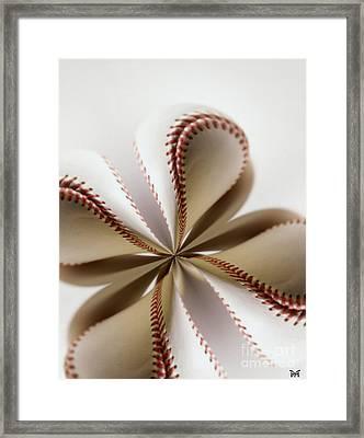 Four Seam Framed Print by Maria Watt