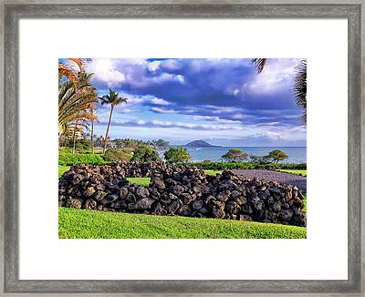 Four Seasons 112 Framed Print