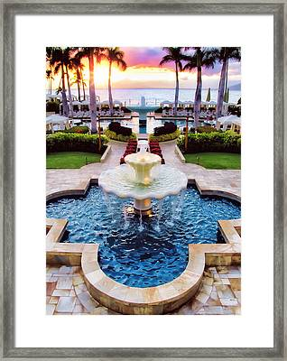 Four Seasons 50 Framed Print
