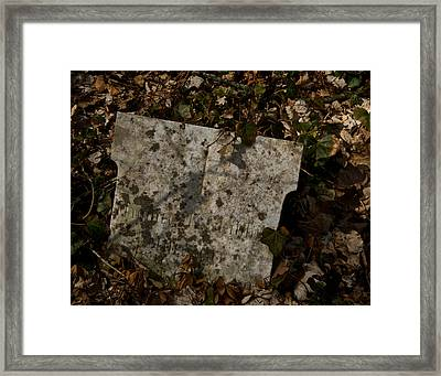 Four Seasons Become One Framed Print by Odd Jeppesen
