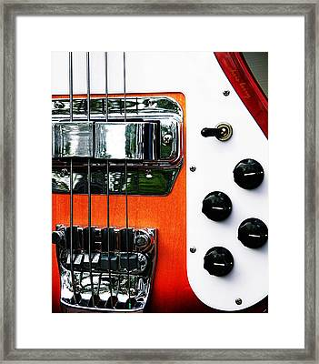 Four String Rickenbacker Bass  Framed Print