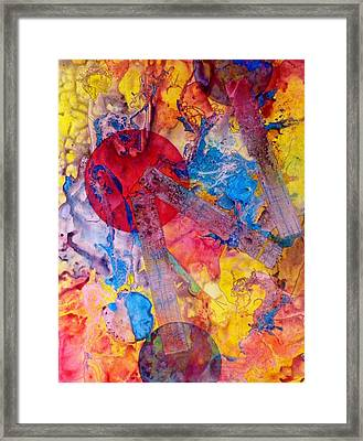 Four Worlds Connected Framed Print by David Raderstorf