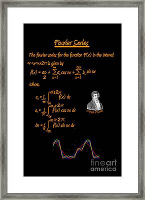 Fourier Series Framed Print