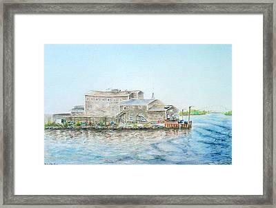 Fournier's Marine Framed Print