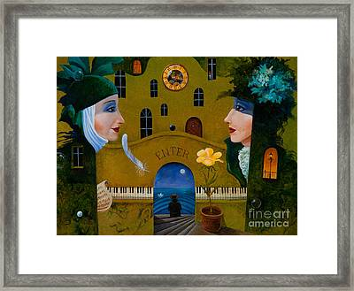 Fourth Dream Of Natasha Framed Print