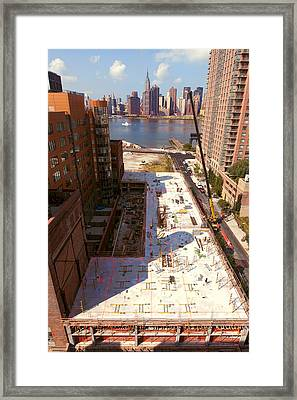 Fourth Floor Slab Framed Print