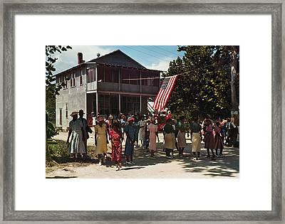 Fourth Of July, 1939 Framed Print by Granger