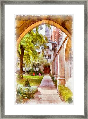 Fourth Presbyterian - A Chicago Sanctuary Framed Print