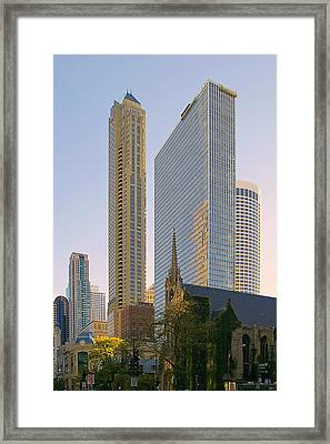 Fourth Presbyterian Church Chicago Framed Print