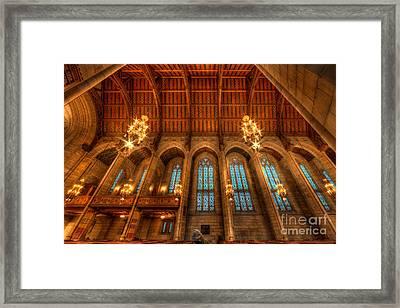 Fourth Presbyterian Church Chicago Framed Print