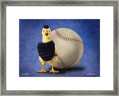 Fowl Ball... Framed Print