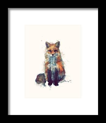 Woodlands Framed Prints