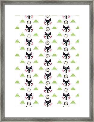Fox Mountain Framed Print by Susan Claire