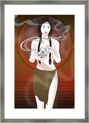 Fox Spirit Framed Print
