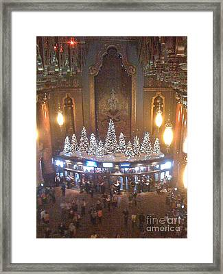 Fox St. Louis Christmas Framed Print