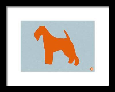Fox Terrier Framed Prints