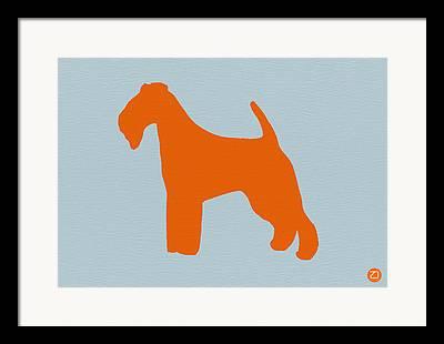Fox Terrier Puppy Framed Prints