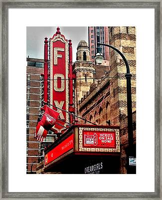 Fox Theater - Atlanta Framed Print by Robert L Jackson