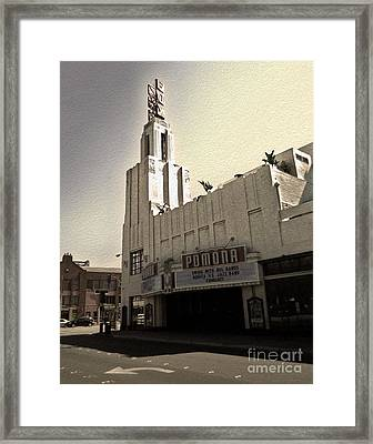 Fox Theater - Pomona - 05 Framed Print