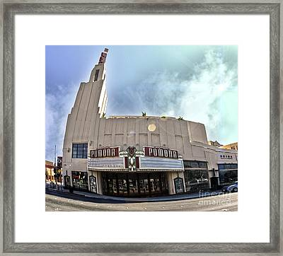 Fox Theater - Pomona - 06 Framed Print