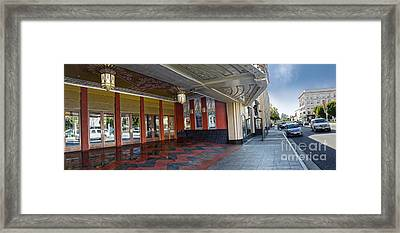 Fox Theater - Pomona - 07 Framed Print