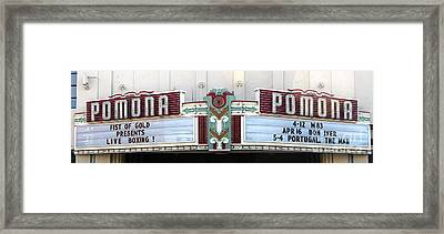 Fox Theater - Pomona - 09 Framed Print