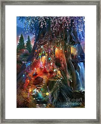 Foxglove Ball Framed Print