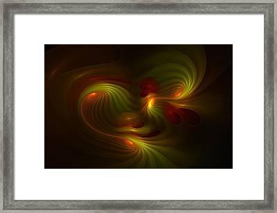 Foxhole Fysix -- Kinesia Framed Print