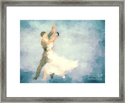 Foxtrot Framed Print by John Edwards