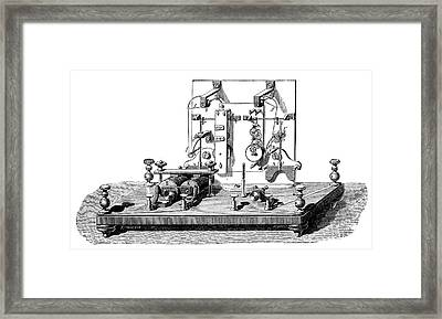 Foy-breguet Telegraph Framed Print by Science Photo Library